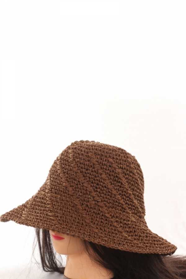 WOMEN  FLOPPY HAT