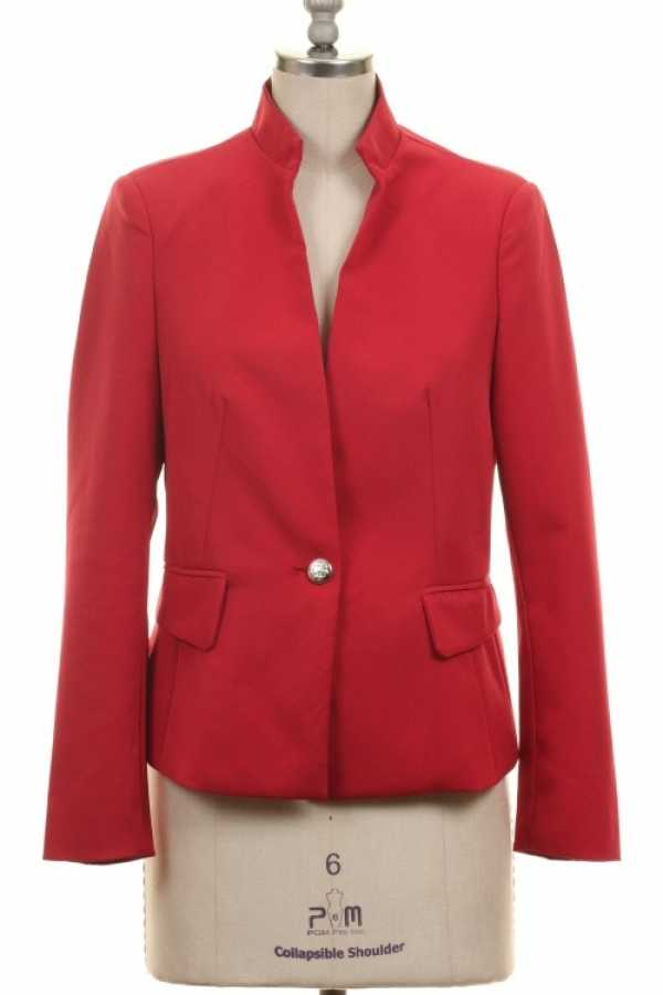 ROYAL BUTTON COLLAR BLAZER WITH LINING