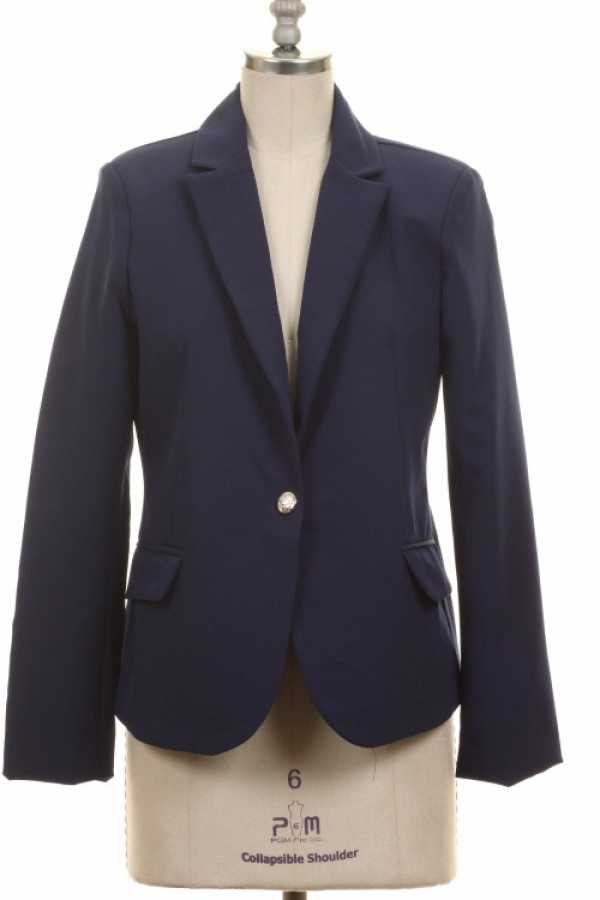ROYAL BUTTON DETAIL BLAZER WITH LINING