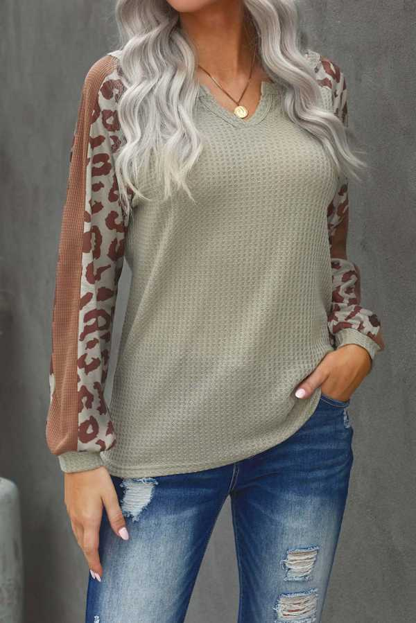 PRE ORDER-DEC 27 CONTRAST SLEEVE TUNIC TOP