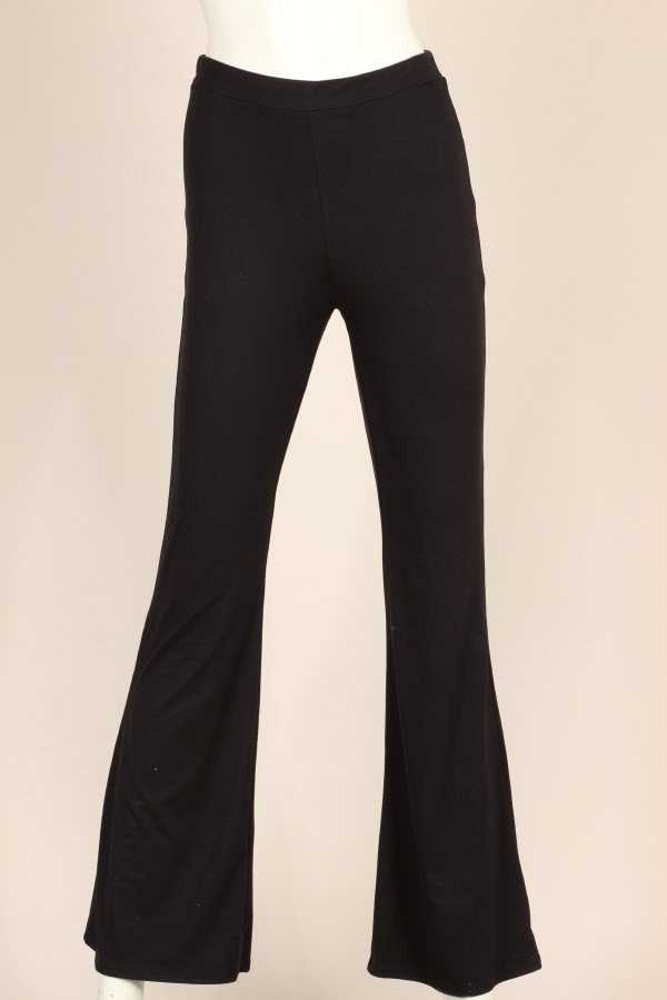 PLUS SIZE WIDE LEGGED SOLID LOUNGE PANTS
