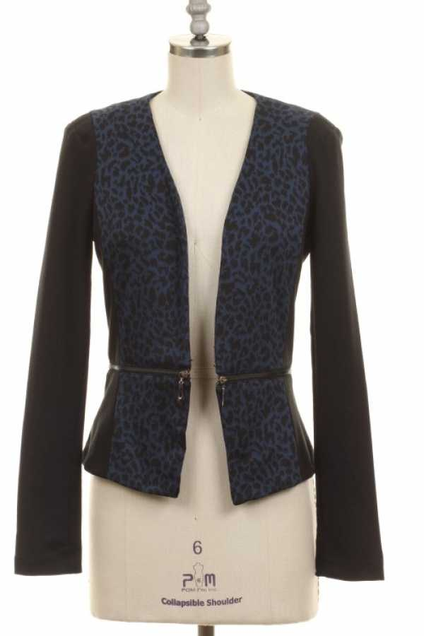 ANIMAL CONTRAST BLAZER